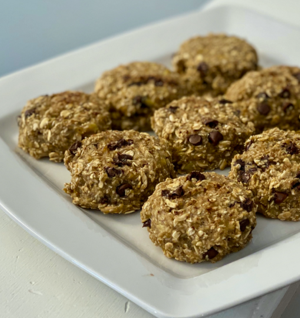 Chewy Chocolate Chip Banana Breakfast Cookies thumbnail
