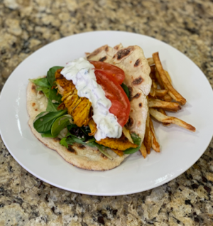 Instant Pot Chicken Shawarma thumbnail