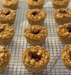 PB&J Oatmeal Protein Muffins thumbnail